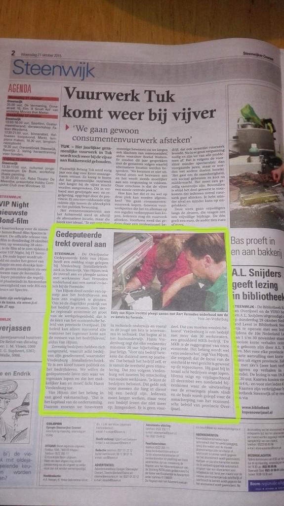SteenwijkerCourant Vredenburg Hijum 21 10 2015 a