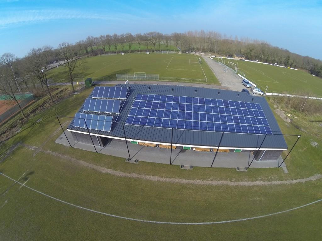 Meest duurzame sportaccommodatie FC Oldemarkt