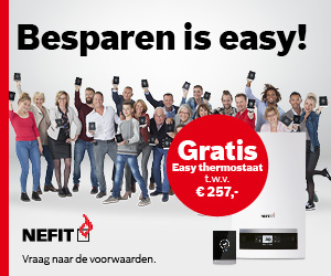 Besparen? Easy met de Nefit Easy thermostaat!