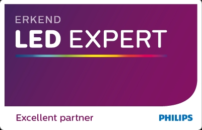 Erkend Philips LED Expert