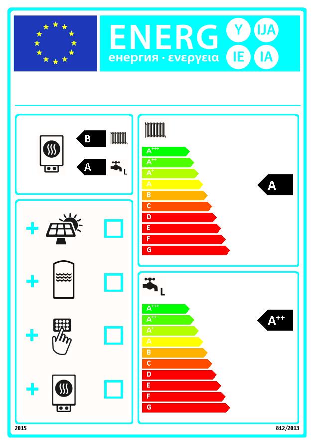 Energielabel Cvketels