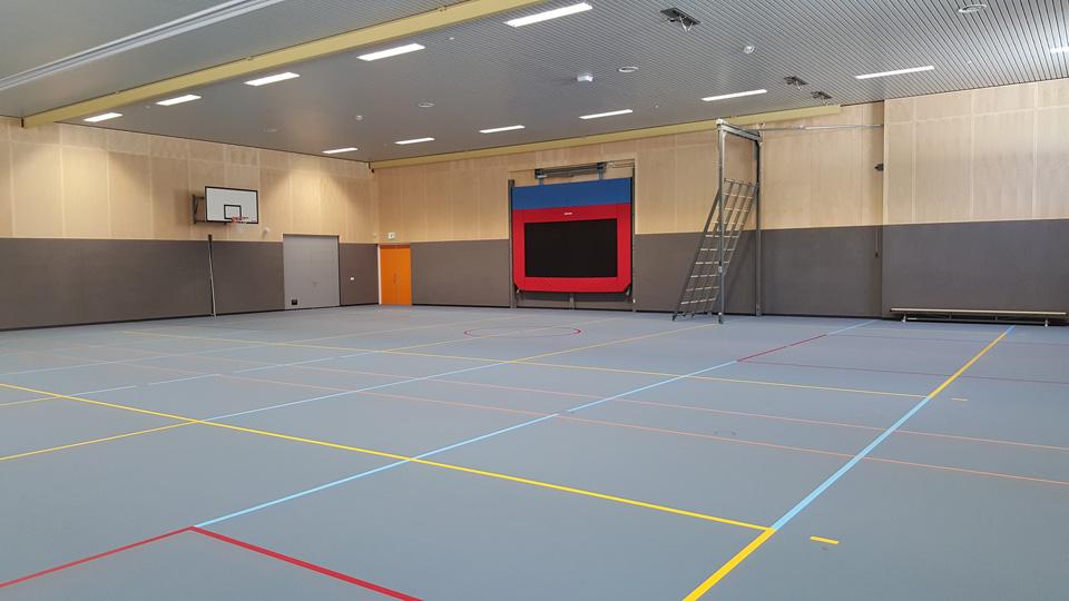Gymzaal RSG Tromp Meesters Steenwijk - Ism Philips Lightning