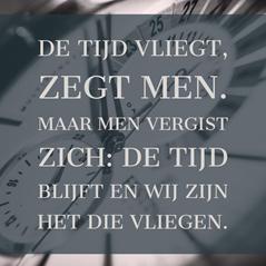 Tijd voor jezelf – Column Harm Vredenburg